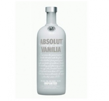 Absolut Vanille Vodka 40 %   0,7 l<br>