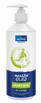 ALPA Massageöl SPORT 500ml