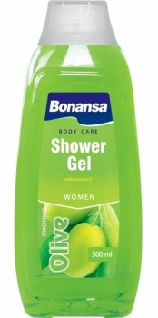 BONANSA Body care shower gel OLIVE  Frauen 2 in 1