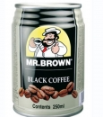 Mr. Brown black 250ml  Blech /24/