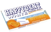 Happydent White Orange Mint Kaugummi