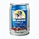 Mr. Brown vanilla 250ml   Blech