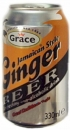 Ginger Beer - Ingwer Bier - Alkohol frei - Grace 330ml