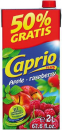 CAPRIO PLUS Fruchtsaft Apfel-Himmbeere in Tetra Pack 2 l