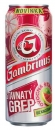 Gambrinus Greapfruit Blech 24x500ml   -  Gambrinus grep pivo plech